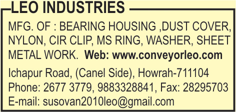 Conveyors, LEO INDUSTRIES, Howrah,  Yellow Pages, Kolkata, West Bengal
