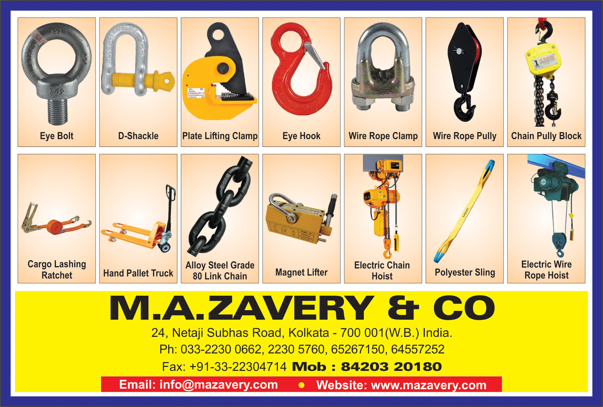 Printers Offset and Binding, M A ZAVERY & CO, Kolkata,  Yellow Pages, Kolkata, West Bengal