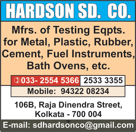 Scientific Apparatus and Instruments, HARDSON SD CO, Kolkata,  Yellow Pages, Kolkata, West Bengal
