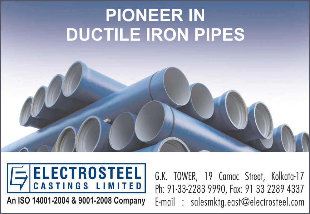 ELECTROSTEEL CASTING LTD Pipes and Pipe Fittings Kolkata Yellow Pages Kolkata West Bengal