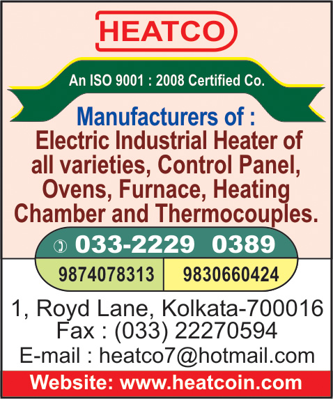 Heaters Industrial, HEATCO, Kolkata,  Yellow Pages, Kolkata, West Bengal