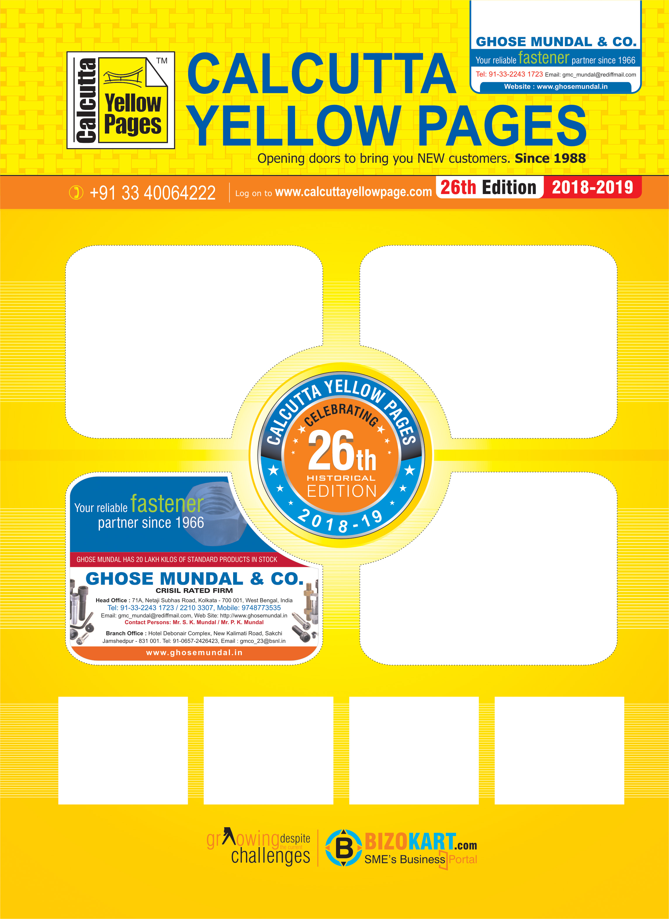 GHOSE MUNDAL & CO Colour Page Kolkata Yellow Pages Kolkata West Bengal