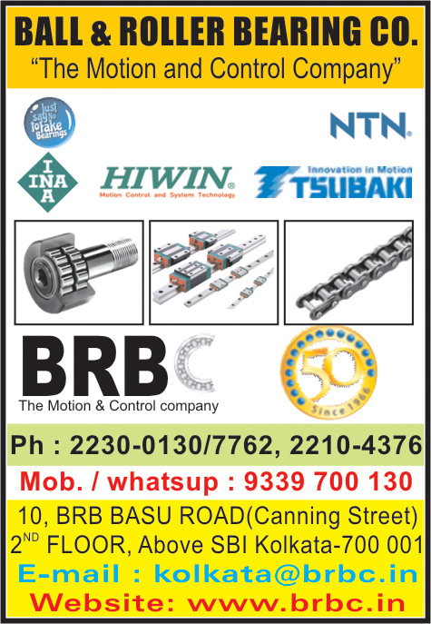 Bearings, BALL & ROLLER BEARING COMPANY, Kolkata,  Yellow Pages, Kolkata, West Bengal