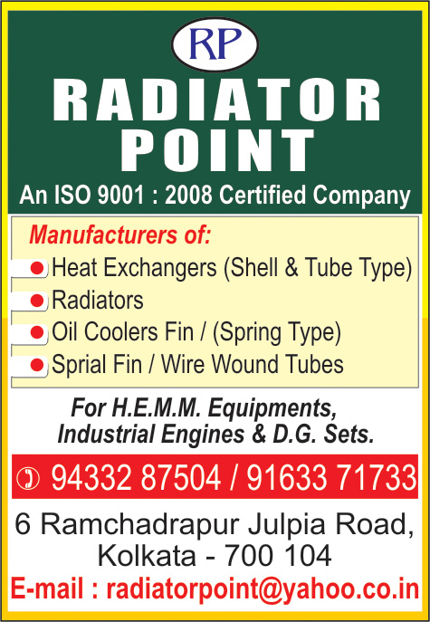 RADIATOR POINT Radiators Kolkata Yellow Pages Kolkata West Bengal