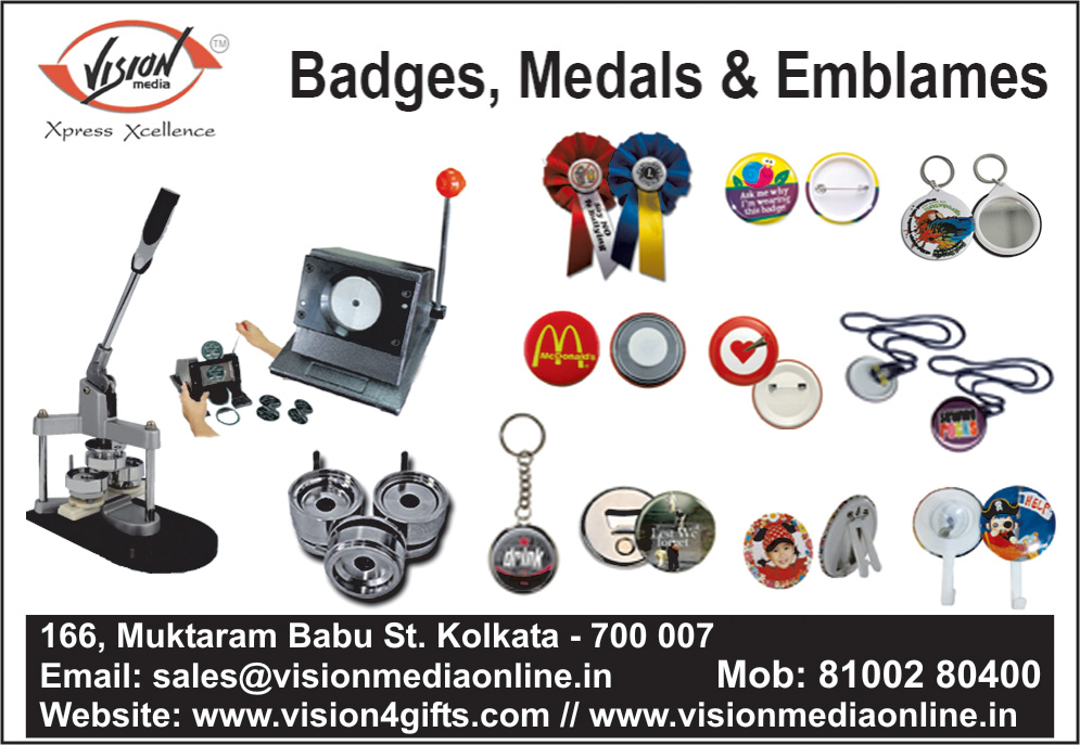 Badges Medals and Emblems, ROYAL TRADING CO, Kolkata,  Yellow Pages, Kolkata, West Bengal