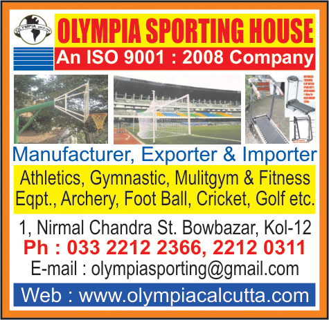 Sports Goods, OLYMPIA SPORTING HOUSE, Kolkata,  Yellow Pages, Kolkata, West Bengal