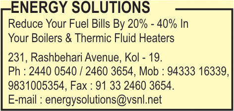 ENERGY SOLUTIONS Burners Industrial Kolkata Yellow Pages Kolkata West Bengal
