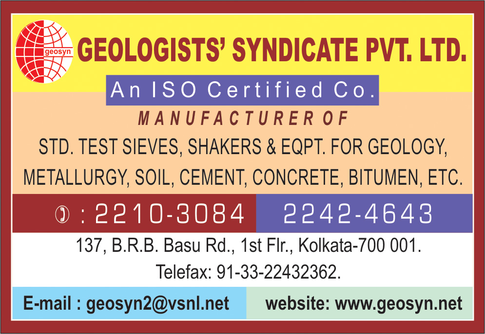 Scientific Apparatus and Instruments, GEOLOGISTS SYNDICATE PVT LTD, Kolkata,  Yellow Pages, Kolkata, West Bengal