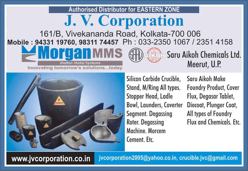 Crucibles, J V CORPORATION, Kolkata,  Yellow Pages, Kolkata, West Bengal