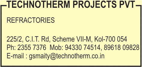 TECHNOTHERM PROJECTS PVT LTD Refractories Kolkata Yellow Pages Kolkata West Bengal