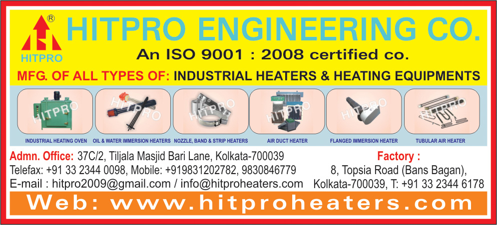 HITPRO ENGINEERING CO Heaters Industrial Kolkata Yellow Pages Kolkata West Bengal
