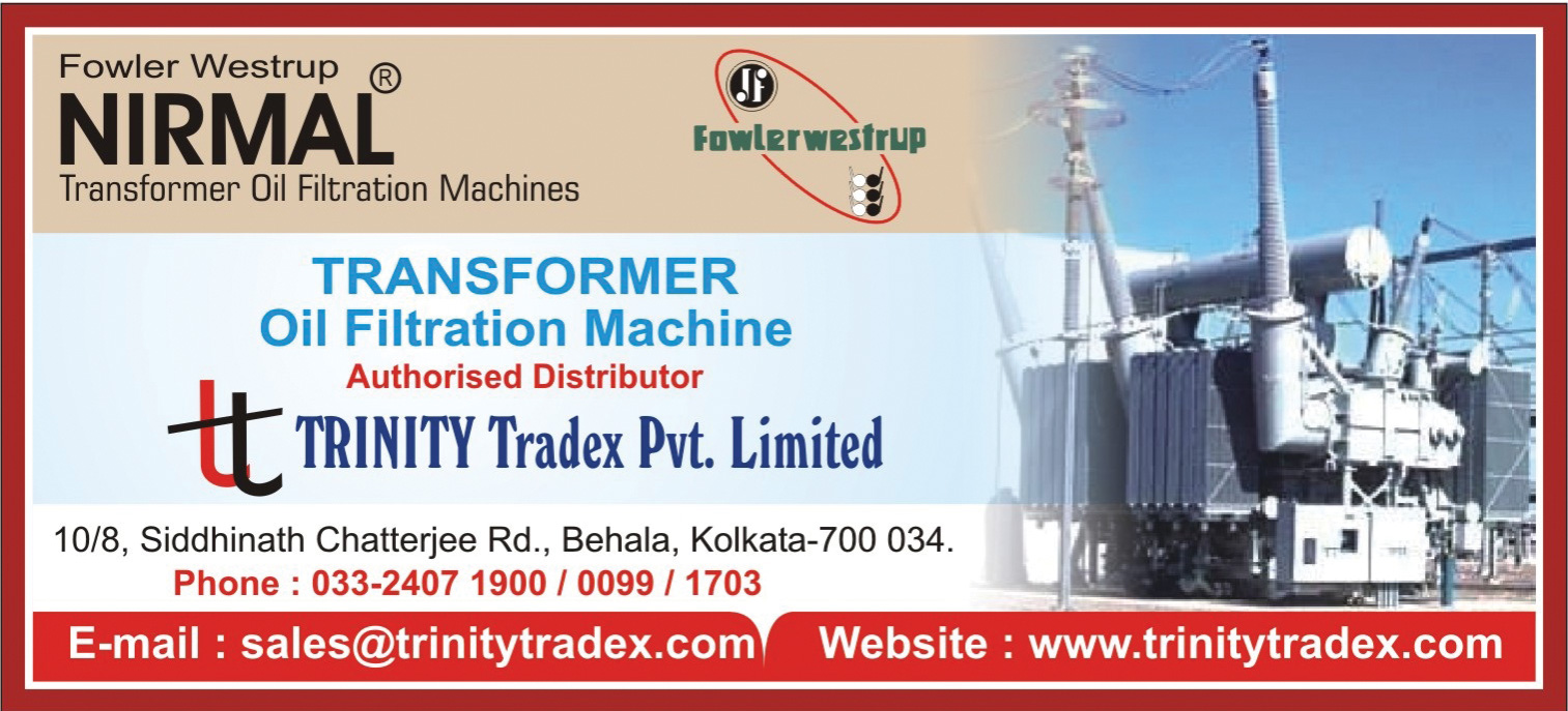 TRINITY TRADEX PVT LTD Transformers and Parts Kolkata Yellow Pages Kolkata West Bengal