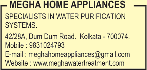 Water Treatment Equipment and Parts, MEGHA HOME APPLIANCES, Kolkata,  Yellow Pages, Kolkata, West Bengal