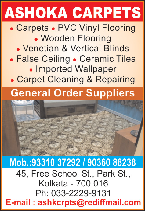 ASHOKA CARPETS Carpets and Rugs Kolkata Yellow Pages Kolkata West Bengal